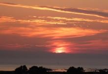 Coucher de soleil à Landéda...