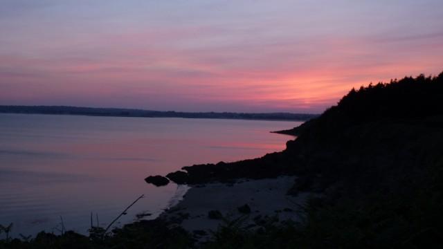 06 Juin: coucher de soleil concarnois
