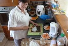 08 Juin: pour une fois c'est moi qui donne les cours de cuisine! :p