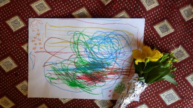 25 Juin: grand succès auprès de la gent masculine! (il a 3 ans, mais bon…)