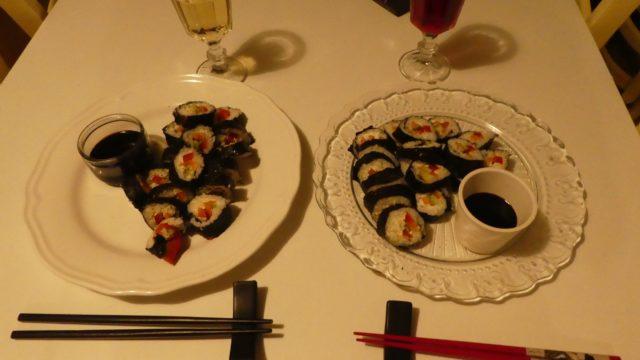 01 février: sushis party