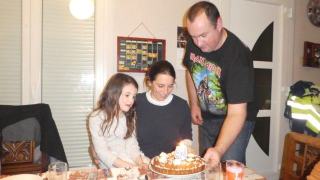 22 février: Happy 40 Sister!