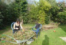 24 mars: jardinage au soleil