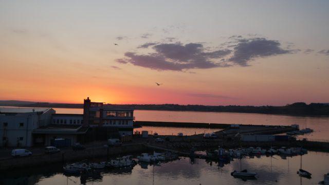 05 Juillet: lever de soleil sur nuit blanche