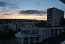19 Août: coucher de soleil parisien