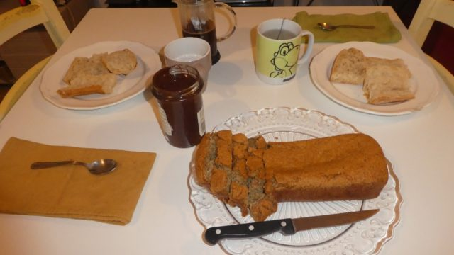 14 Janvier: day's off cooking