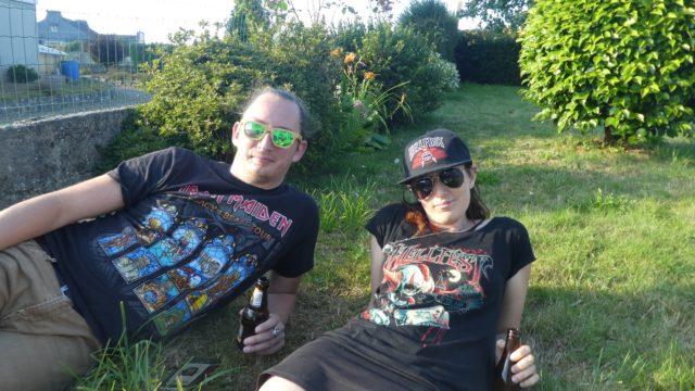 16 Juillet: détendus, à la fraîche