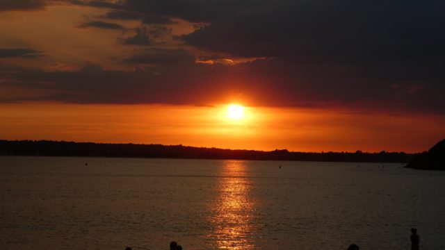 07 Août: gorgeous sunset, amazing people