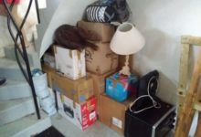 23 Août: garde-meuble improvisé