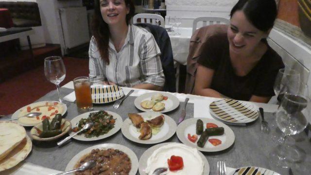 1er Septembre: restaurant d'au revoir