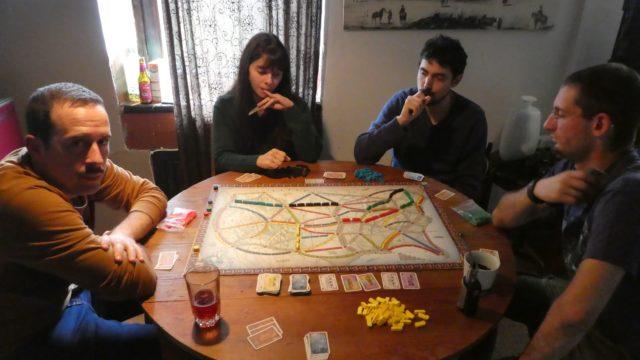 03 Octobre: aventuriers du rail