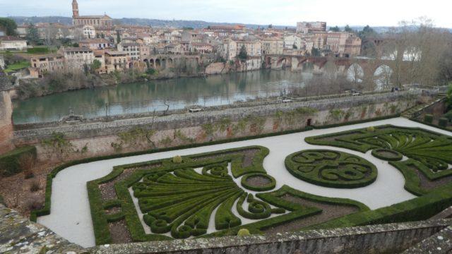 21 Janvier: les jardins d'Albi
