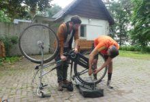 25 Juin : pas simple les vélos hollandais…